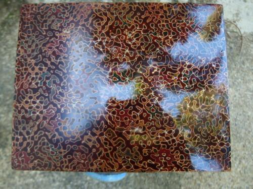Wakasa lacquer box
