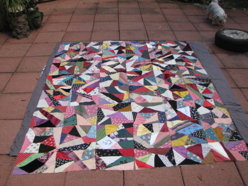 My antique Crazy Quilt