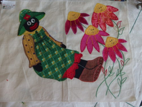 Found Mumma Golly last week amongst some quilts!!!!!! I wi